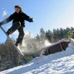 Skifahren am Rabennest