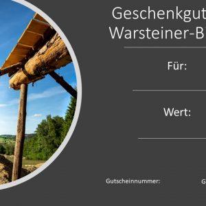 Gutschein Warsteiner-Bikepark Design 3