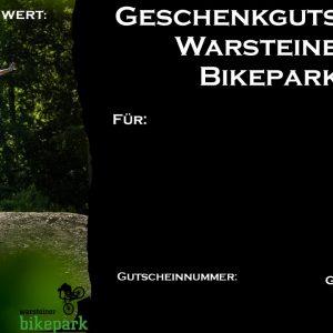 Gutschein Warsteiner-Bikepark Design 1